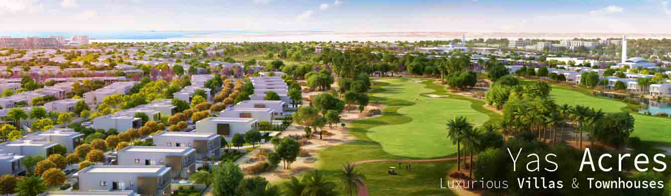 Yas Acres, Residential Project in Yas Island by Aldar, Abu Dhabi