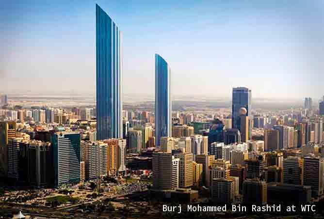 Burj Mohammed Bin Rashid in Abu Dhabi