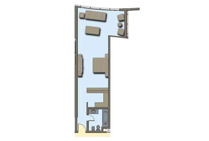 Hydra Avenue Floor Plan Studio Apartment 739 Sqft C6 C7 C8 C9 Type 6