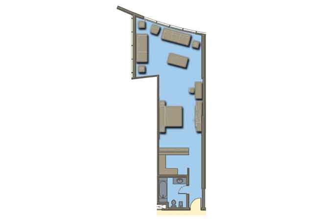 Hydra Avenue Floor Plan Studio Apartment 815 Sqft C6 C7 C8 C9 Type 5
