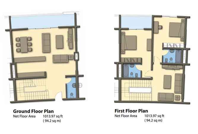 Hydra Avenue Floor Plan Townhouse 2026 Sqft C6 C7 C8 C9 Type 1