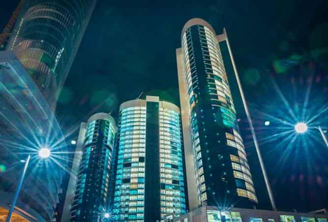 Hydra Avenue, Reem Island in Abu Dhabi