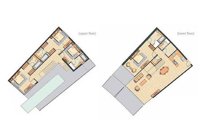 Oceanscape Floor Plan Townhouse