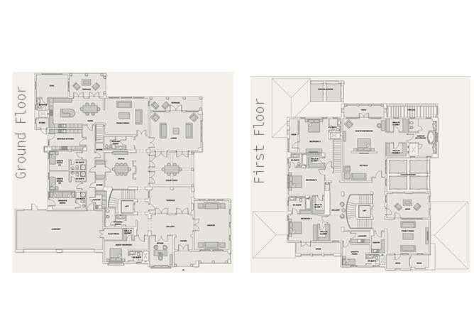Saadiyat Beach Villas Floor Plan Arabian Villa 5 Bedroom Villa Premium 12166 Sqft