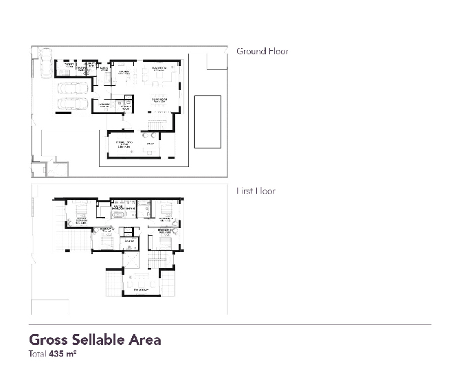 Yas Acres Floor Plan 4 Bedroom Villa Type 2r a