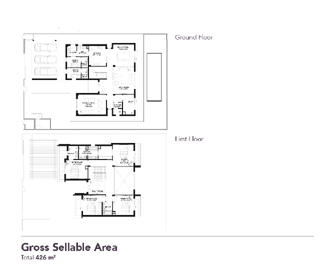 Yas Acres Floor Plan 4 Bedroom Villa Type Garden
