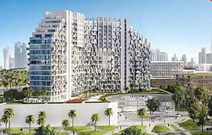 Off plan project Azizi Farhad Residence, Dubai