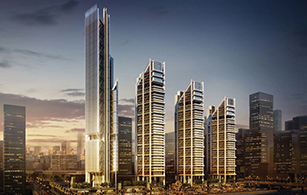 Off Plan project  Maryah Plaza in Abu Dhabi