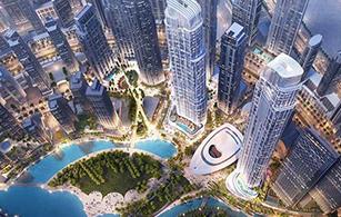 Off plan project The Opera District, Dubai