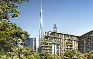 Off plan project Central Park, Dubai