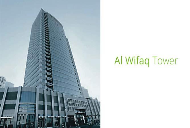 Al Wifaq Tower in Reem Island, Abu Dhabi