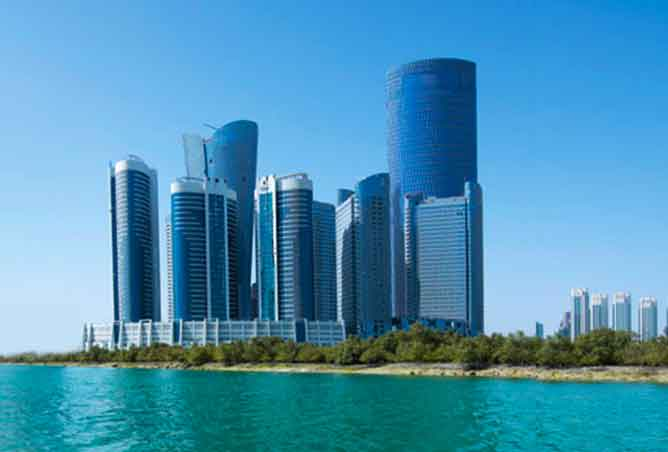 City of Lights in Al Reem Island, Abu Dhabi