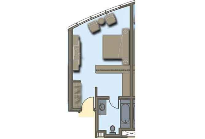 Hydra Avenue Floor Plan Studio Apartment 423 Sqft C6 C7 C8 C9 Type 2