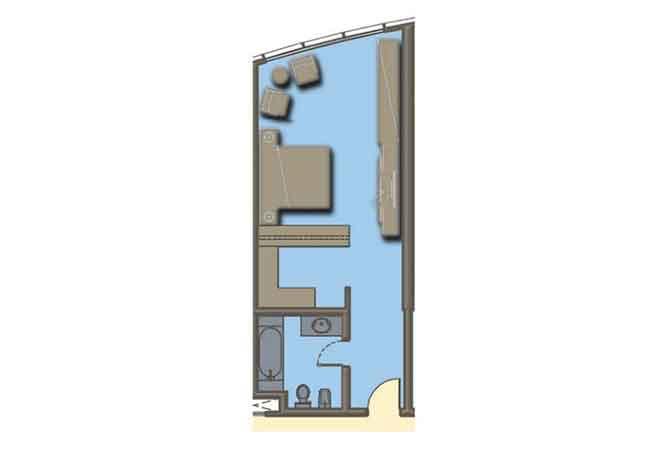 Hydra Avenue Floor Plan Studio Apartment 514 Sqft C6 C7 C8 C9 Type 3