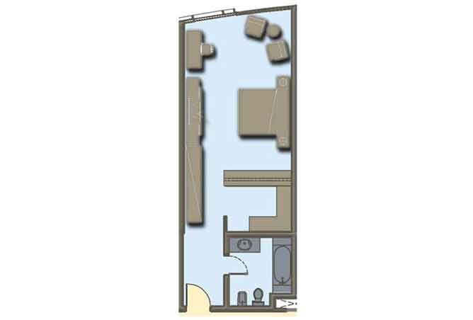 Hydra Avenue Floor Plan Studio Apartment 556 Sqft C6 C7 C8 C9 Type 4