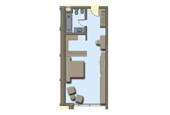 Hydra Avenue Floor Plan Studio Apartment 570 Sqft C6 C7 C8 C9 Type 7