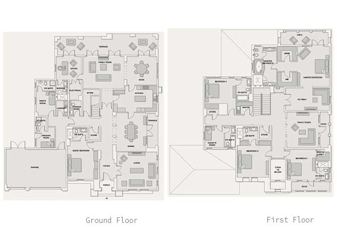 Saadiyat Beach Villas Floor Plan Meditteranean Villa 5 Bedroom Villa Executive 8260 Sqft