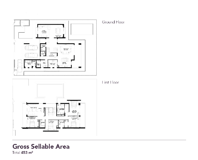 Yas Acres Floor Plan Royal Oak 4 Bedroom Villa Type gf