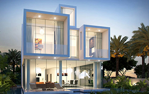 Off plan project Akoya Boutique Villas, Dubai